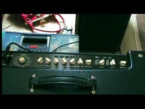 Line 6 Flextone III XL 2  75 Watt Stereo Modelling Amplifier Demo