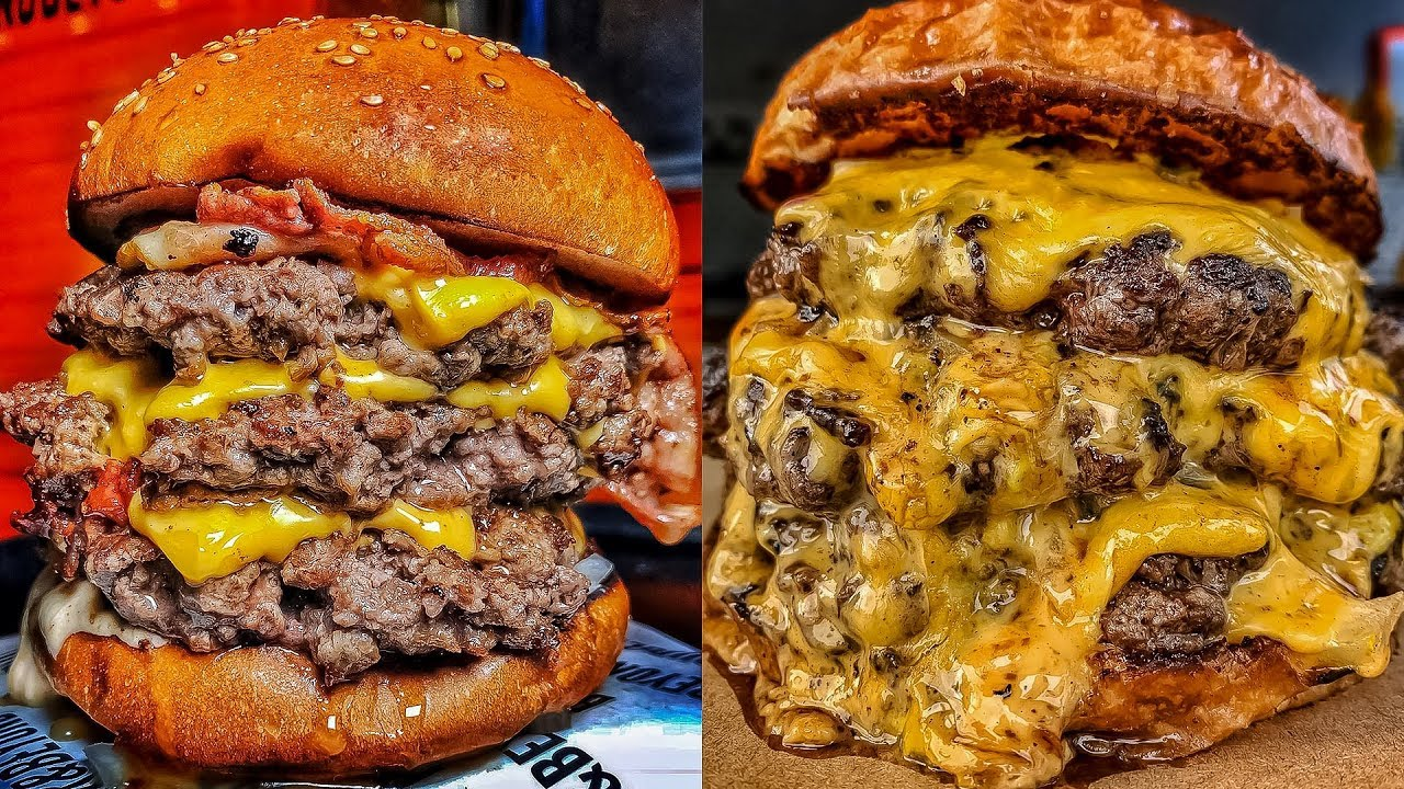 The Best Burger Ever Burger Cheeseburger London