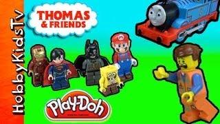 Where is Emmet? Thomas The Train and LEGO Batman Adventure thumbnail