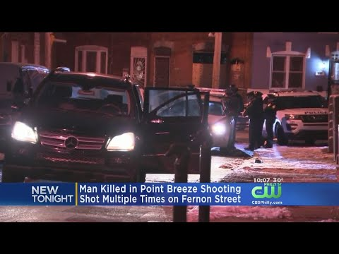Police: Man Shot And Killed In Point Breeze