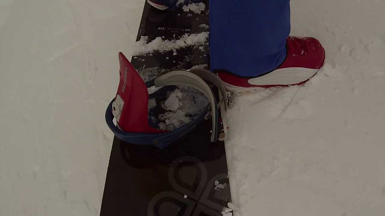 Extreme Carving With Soft Boots And Soft Snowboard Swoard Dual 175