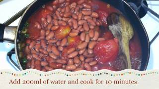 Vegetarian/ Vegan/ Vegetable Chili With Pasta Recipe [hd]