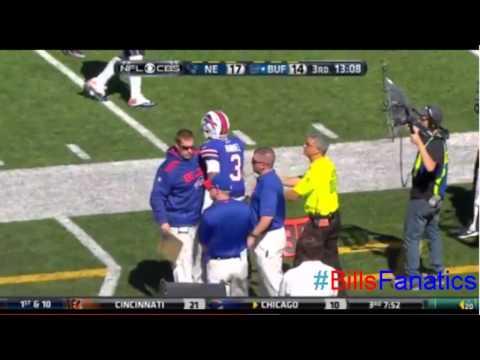 EJ Manuel vs New England Patriots (Week 1 2013)