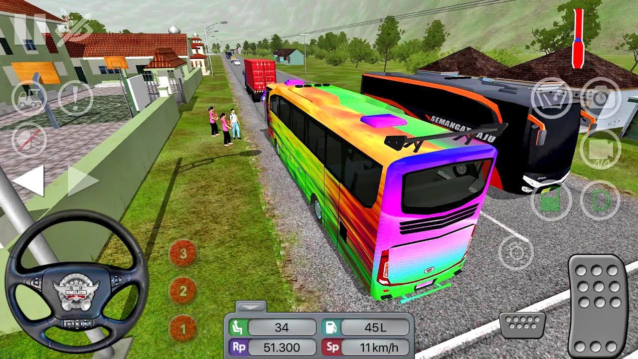 Bus Simulator Indonesia 2019 #1 BUSSID - Bus Game Android gameplay