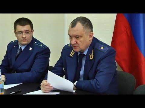 В городе Волосово состоялся личный приём прокурора Ленинградской области