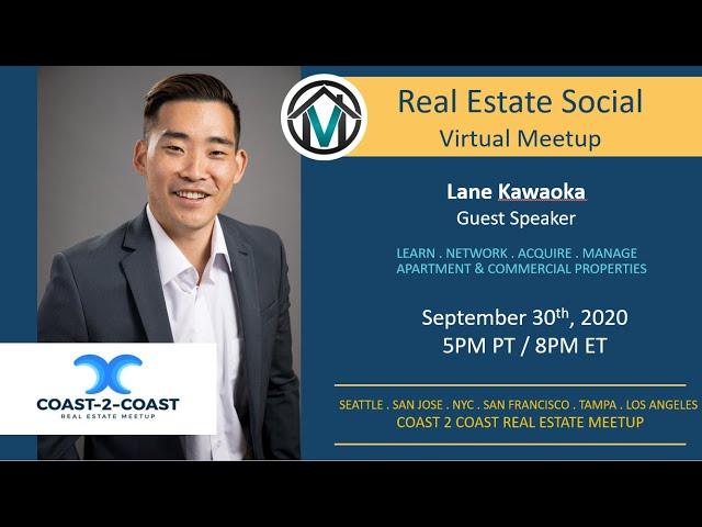 Coast2Coast Real Estate Social with Lane Kawaoka