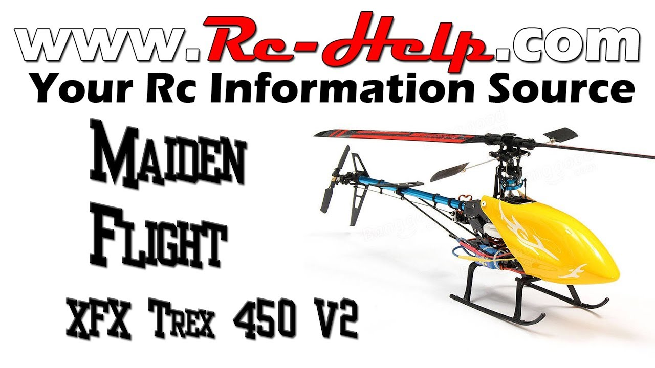 Elicottero 450 : Xfx trex 450 super combo maiden flight cheapest 450 helicopter youtube