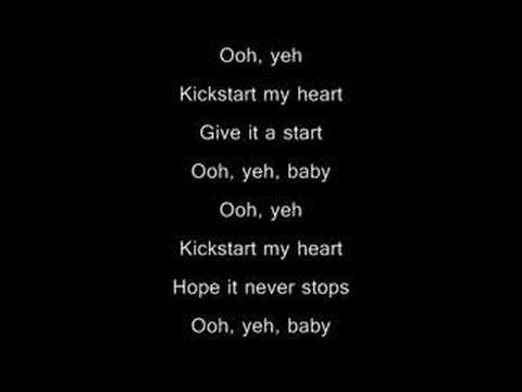 Mötley Crüe - kickstart my heart (WITH lyrics)
