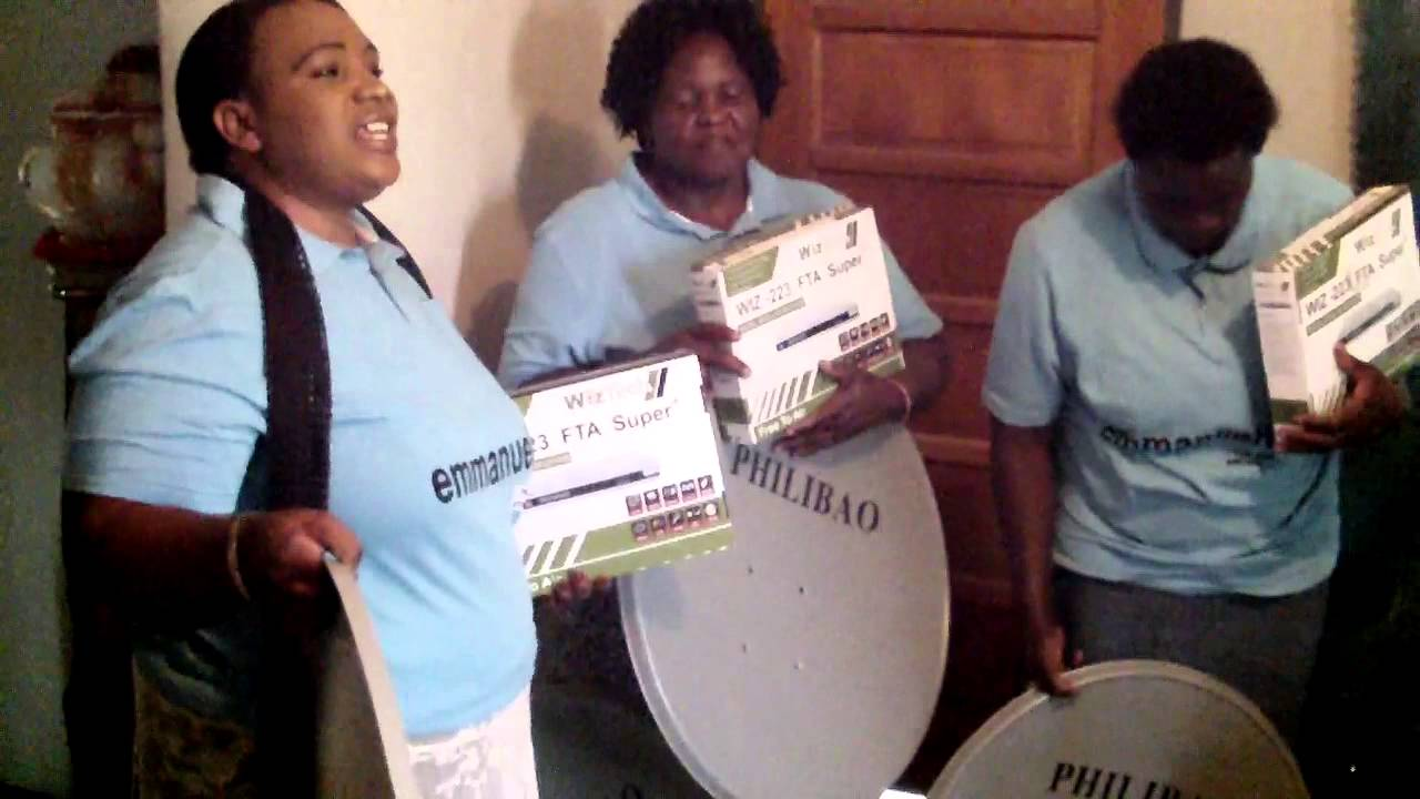 Hope of Life Charity Organization By EMMANUEL TV Partners CAPRIVI  REGION introduction of dish