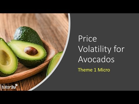 Markets In Action: Price Volatility In The Market For Avocados