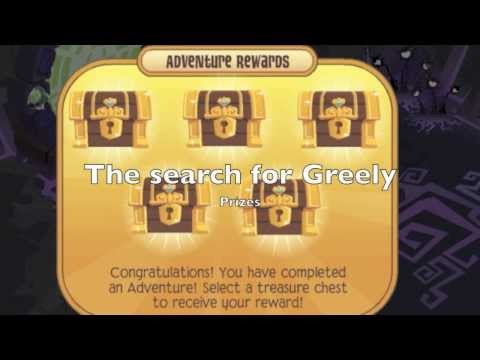 Animal jam adventures the search for greeley prizes