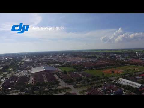 Sungai Besar, The Aerial Footage