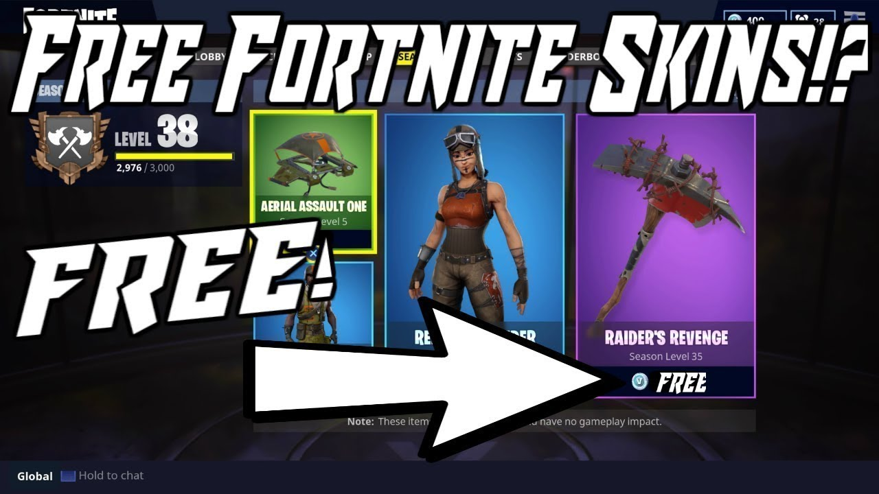 24+ How To Get Free Skins In Fortnite Ps4  Images