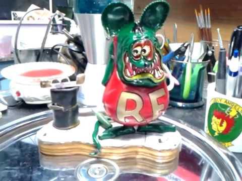 Revell Rat Fink build reveal