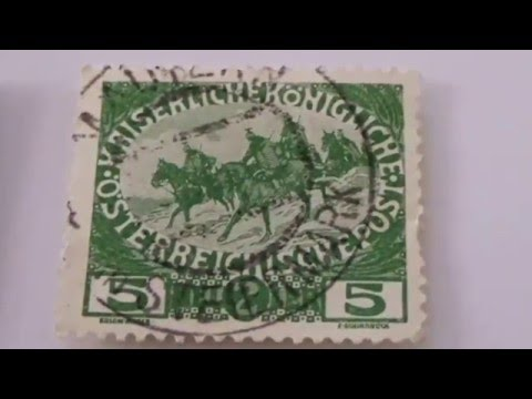 Old & Rare Postage Stamps From Germany
