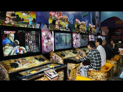 Amazing Gaming Arcade in China