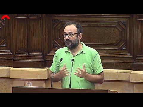 """""""Defensar avui el Consell de Garanties Estatutàries és emmordassar la sobirania d'aquest país"""""""
