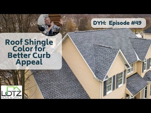 Choosing Roof Shingle Color for Better Curb Appeal