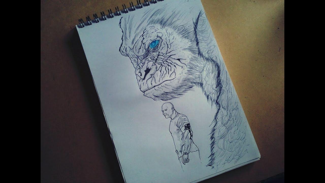 Drawing Dibujo Rampage Pelicula Art Reces Youtube