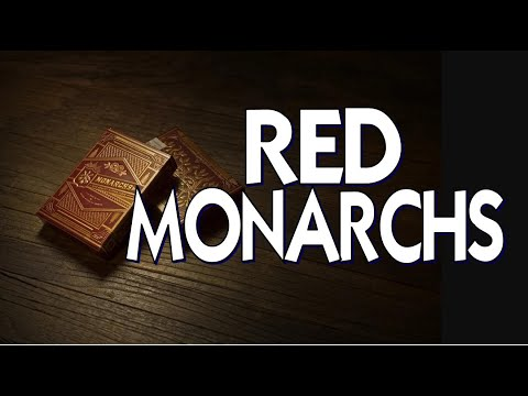 Red Monarchs - Theory 11 - Playing Cards Deck Review