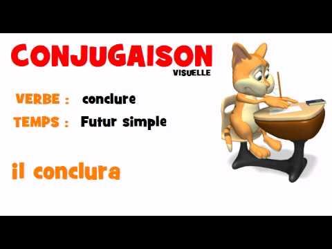 Conjugaison Conclure Futur Simple Youtube