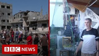 Israel intensifies attacks in Gaza as conflict enters fifth day - BBC News
