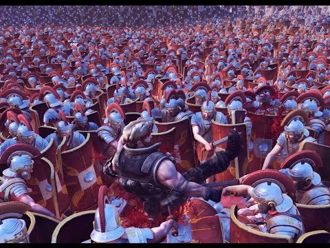 Chuck Norris VS 4000 Romans With A Twist At The End - Epic Battle Simulator