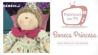 Boneca Princesa com Mônica Lixandrão