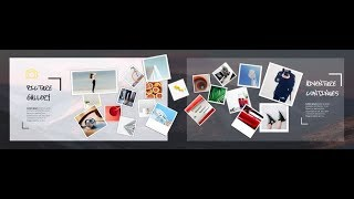 Creative picture gallery slide in powerpoint. Powerpoint tricks