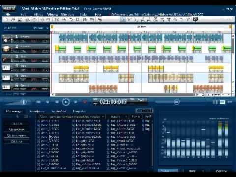 MAGIX Music Maker 14 Producer [Test] Reggae Song