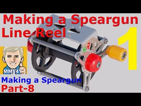 How to Make a Wooden Speargun-Part-8- Making the LINE REEL-1