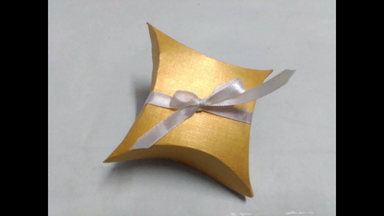 Gift Box Wedding Invitations: How To Make Gift Box From Old Wedding Invitation Card