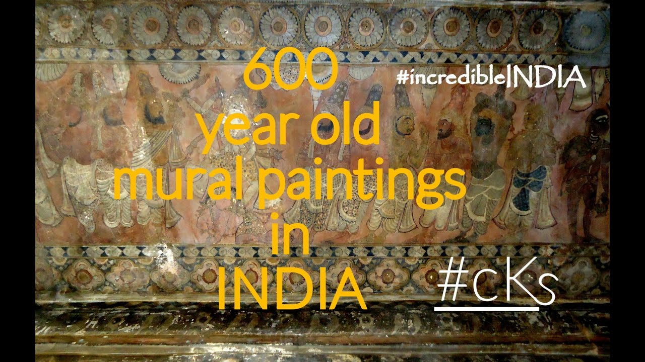 600 year old mural paintings in india lepakshi temple for Archaeological monuments in india mural paintings