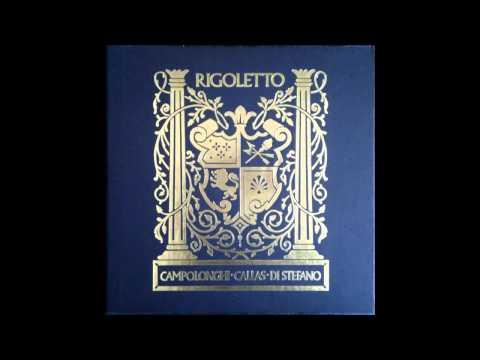 Callas, Di Stefano, Campolonghi: Rigoletto, Mexico 1952 BJR Vinyl Complete Best Sound!