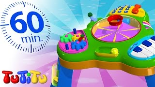 Repeat youtube video TuTiTu Specials | Activity Table | Other Popular Toys For Children | 1 HOUR Special