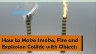 How to make Smoke, Fire and Explosion Collide with Objects - Houdini 16.5 Tutorial