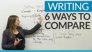Improve Your Writing – 6 ways to compare