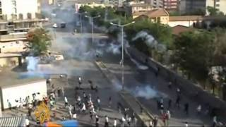 Turkey killing Kurdish Protesters: www.aljazeera.net