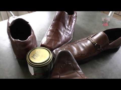 Faça Você Mesmo, colando sola de sapatos