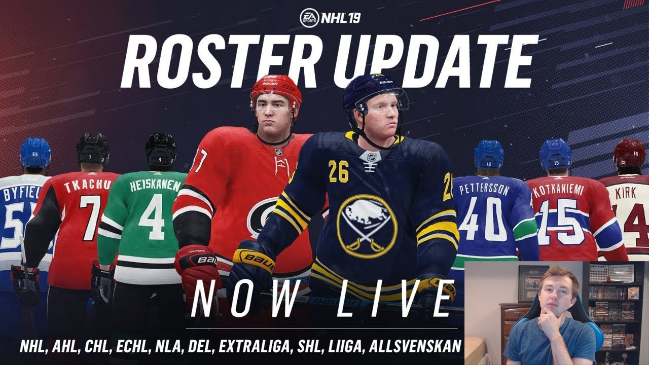 NHL 19 OCTOBER ROSTER UPDATE REVIEW - YouTube f5bff1e98