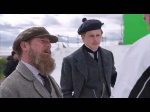 Jack Lowden and Peter Mullan on Tommy's Honour