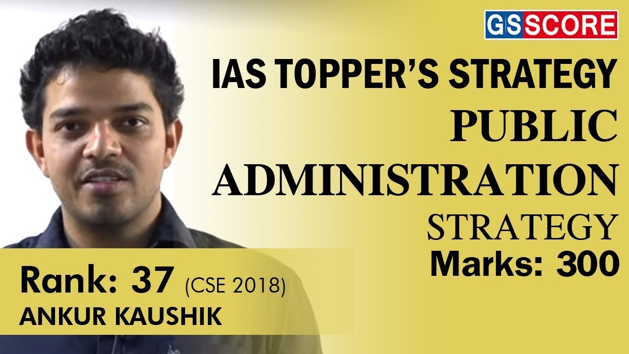 Public Administration Coaching for IAS Exam in Delhi by Ashutosh