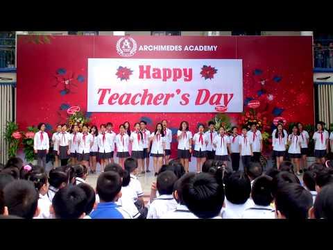 Chương trình chào mừng ngày 20/11 - Bài ca Archimedes