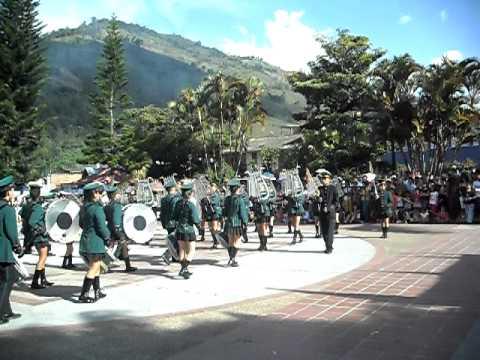 banda marcial carlos lleras concurso de cajamarca 2010