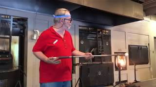 Glassblowing at Dollywood