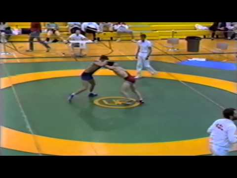1989 Senior National Championships: 62 kg David Mendelsohn vs. Unknown