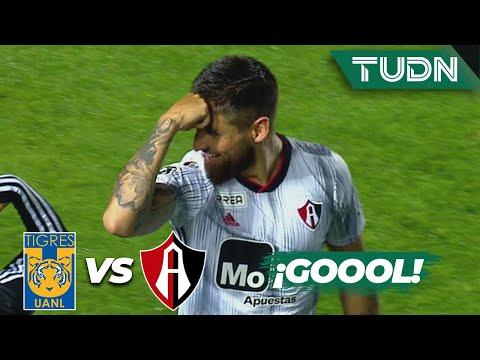 ¡Goool de Atlas y se empata el partido!| Tigres 1 - 1 Atlas | Liga Mx - CL 2020 J-3 | TUDN