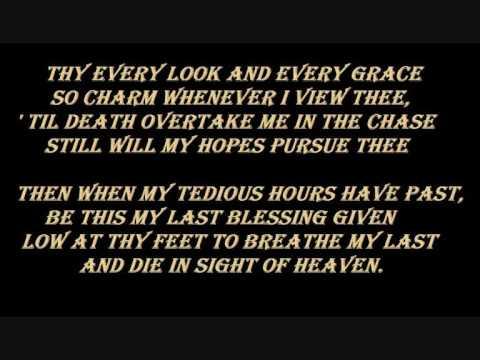 Woman lyrics my dying bride were