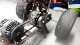 Conversion de mon quad en électrique !!!
