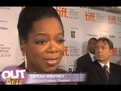 Oprah Winfrey talks about Precious
